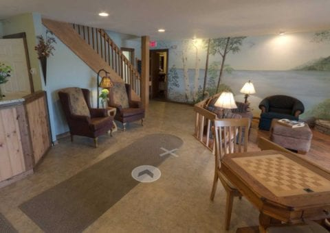 Open Hearth Lodge Virtual Tour | Open Hearth Lodge Door County