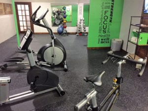 Fitness Room | Open Hearth Lodge Door County