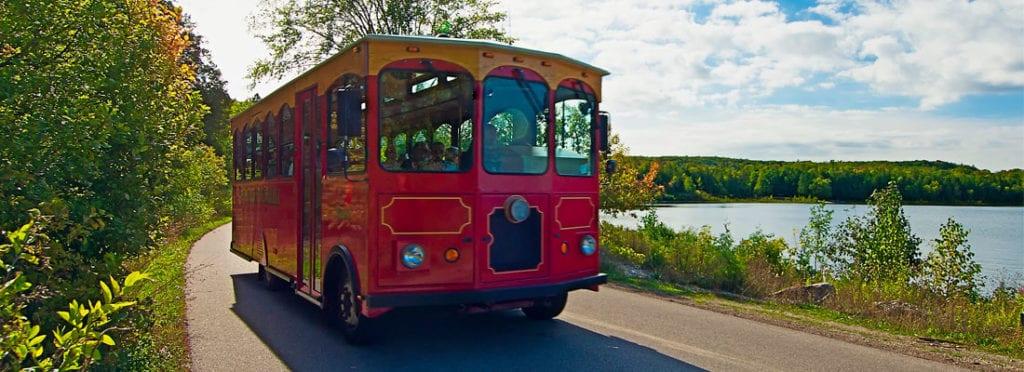 Door County Trolley | Open Hearth Lodge