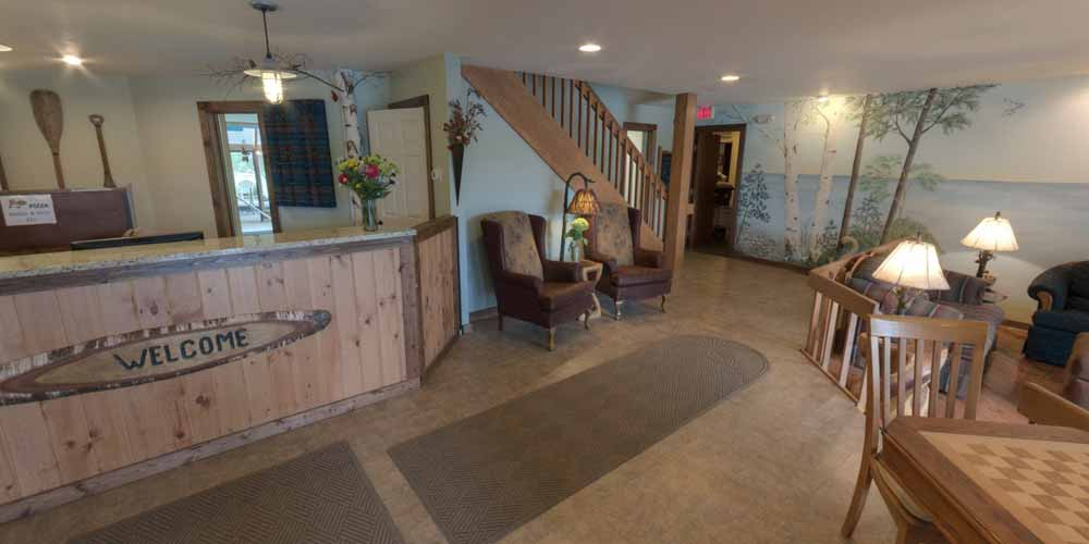 Virtual Tour of Open Hearth Lodge Door County