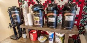 Open Hearth Lodge Coffee Bar in Door County