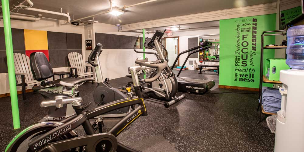 Open Hearth Lodge Gym in Door County