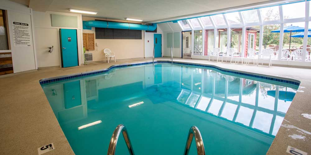 Open Hearth Lodge Heated Indoor Pool in Door County