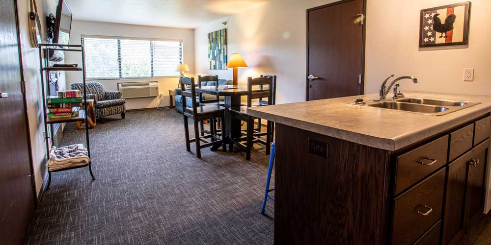 One Bedroom Suite at Open Hearth Lodge Door County