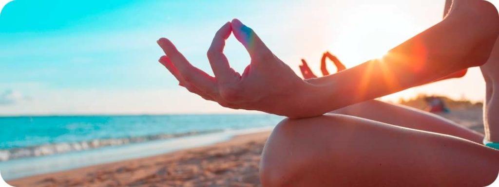 Meditation on a Door County Beach